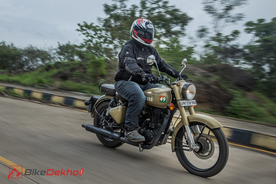 Royal Enfield Classic 350 Signals Road Test Review