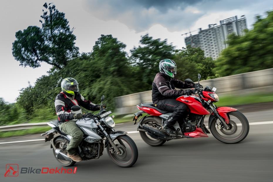 2019 Suzuki Gixxer Vs Tvs Apache Rtr 160 4v Comparison Test