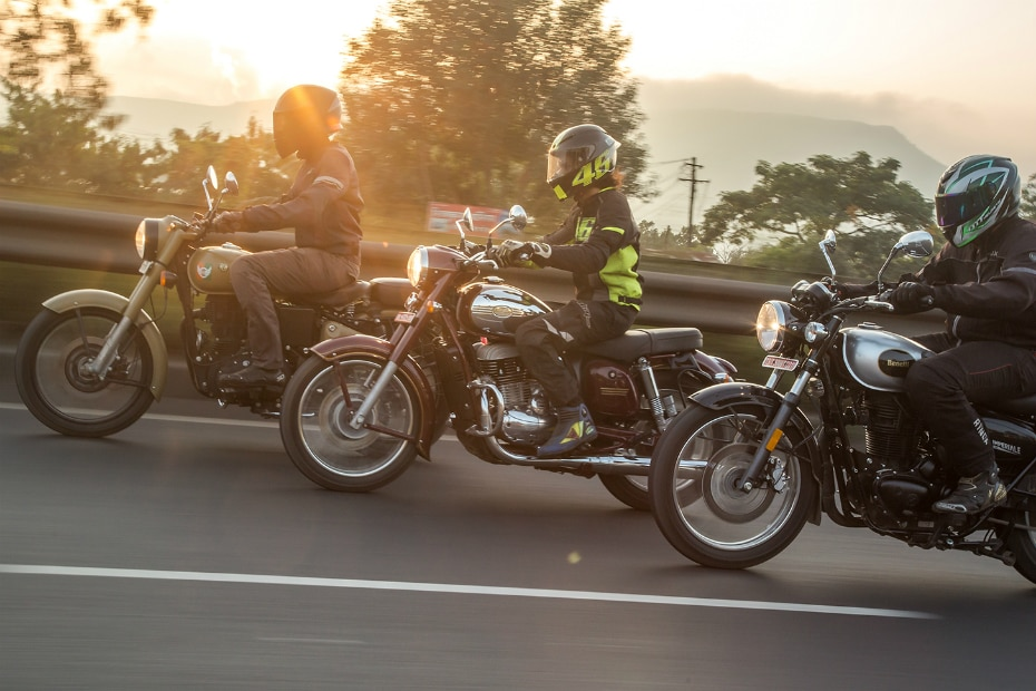 Benelli Imperiale 400 vs Jawa vs Royal Enfield Classic 350: Road Test Comparison