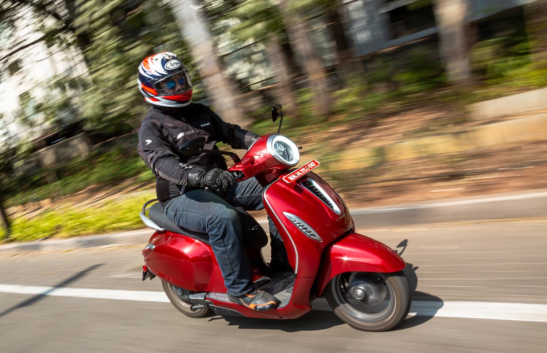 Bajaj Chetak Electric First Ride Review