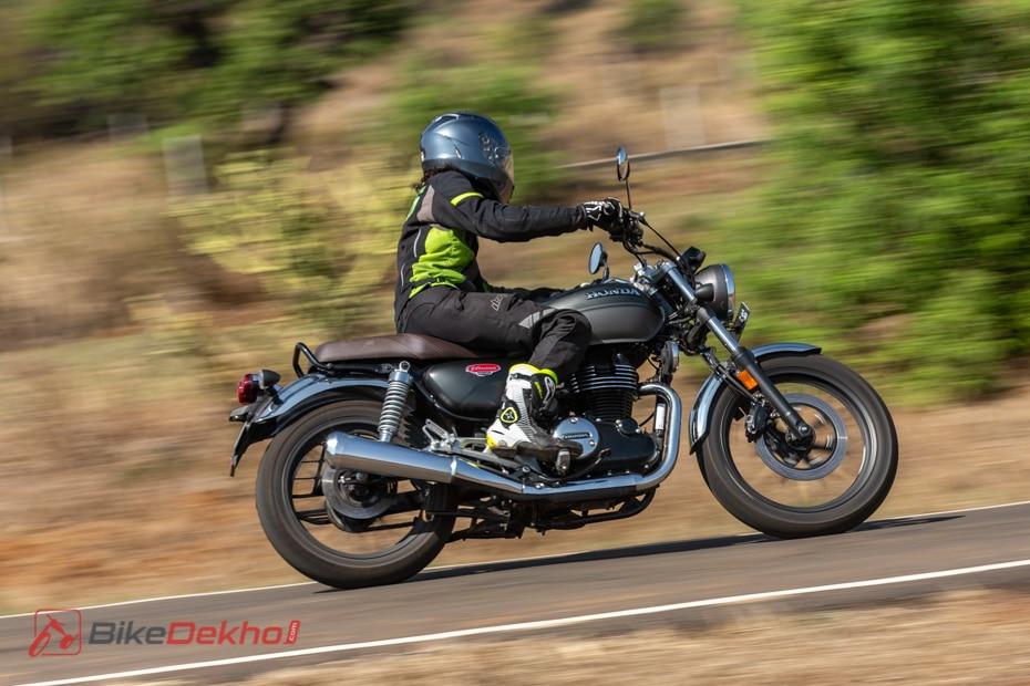 Honda H'ness CB350 - Road Test Review