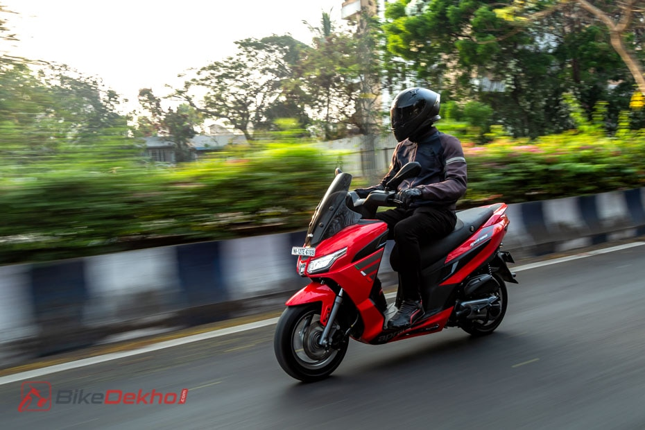 Aprilia SXR 160 Road Test Review