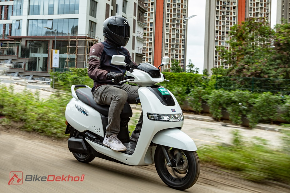 TVS iQube Road Test Review