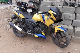 2014 TVS Apache RTR 160 Front Disc