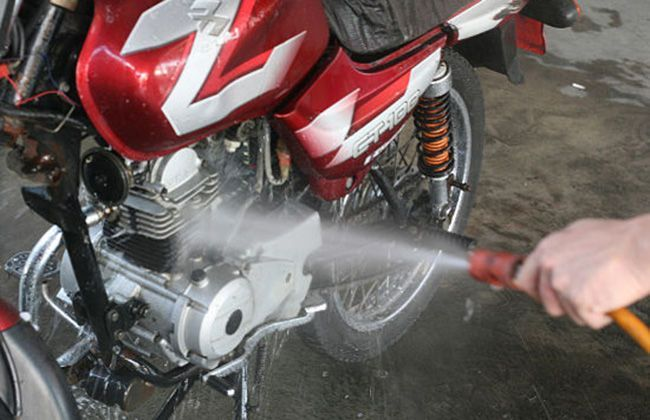 motorcycle how to clean sporket
