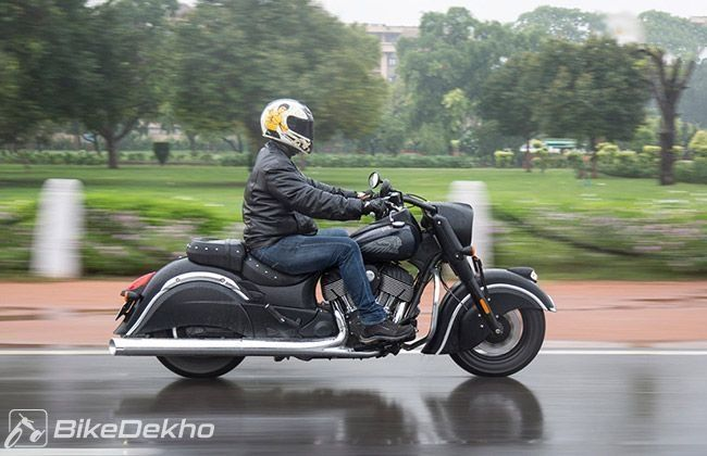 Riding in monsoon