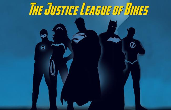 The Justice League of Bikes