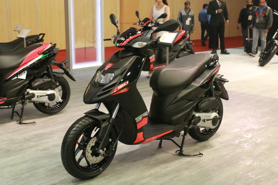 Aprilia Launches 2019 SR 150 Scooter Range