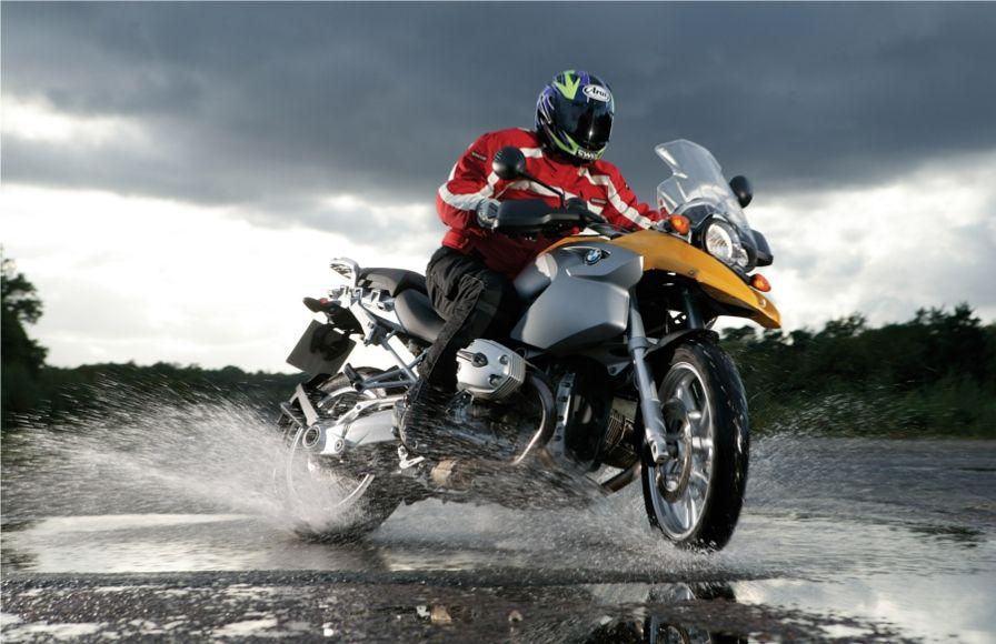 Motorcycle brake check