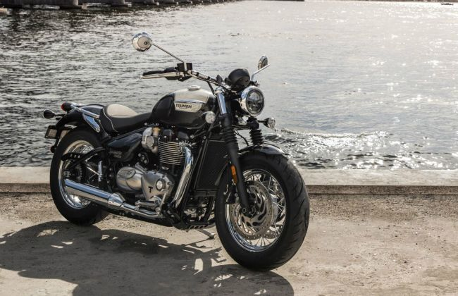 Triumph Bonneville Speedmaster To Be Launched In April 2018 Bikedekho