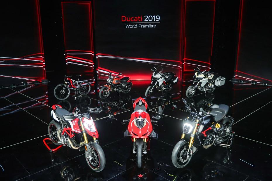 2019 Ducati Range