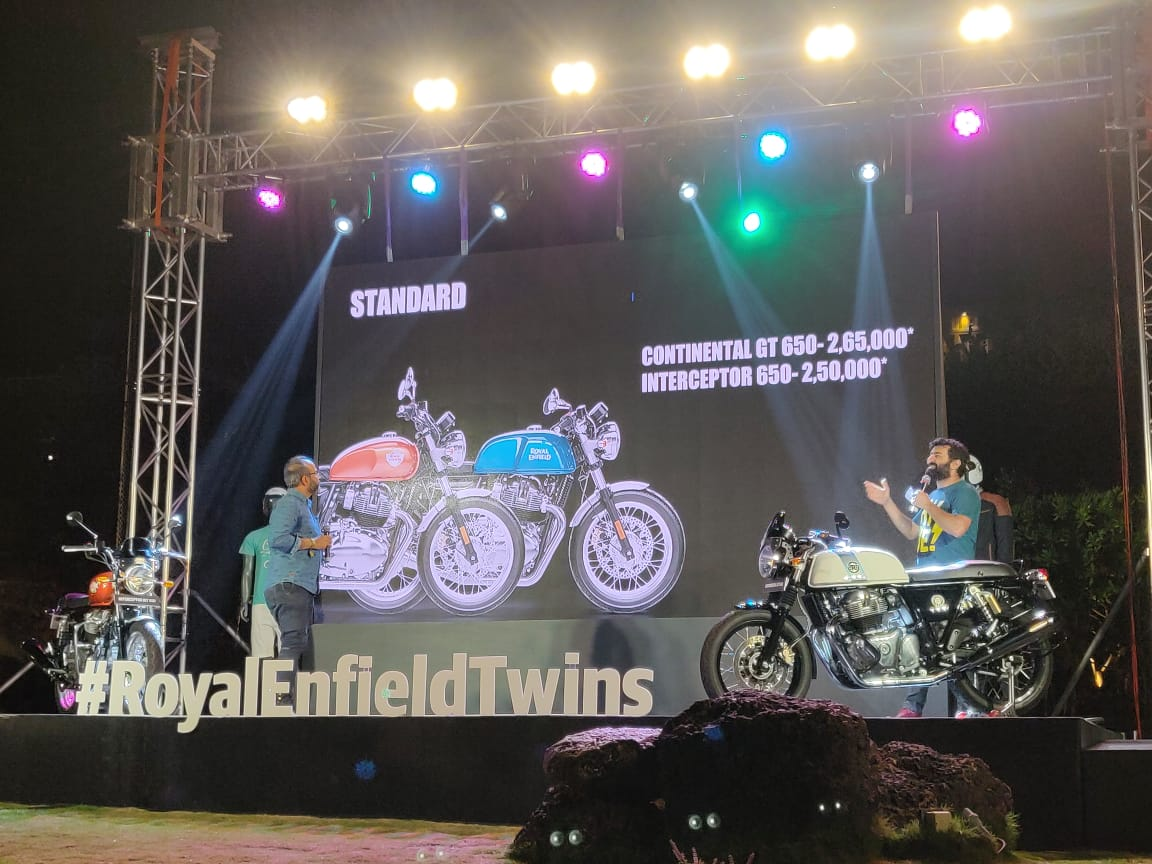 Royal Enfield 650 Twins Launched In India