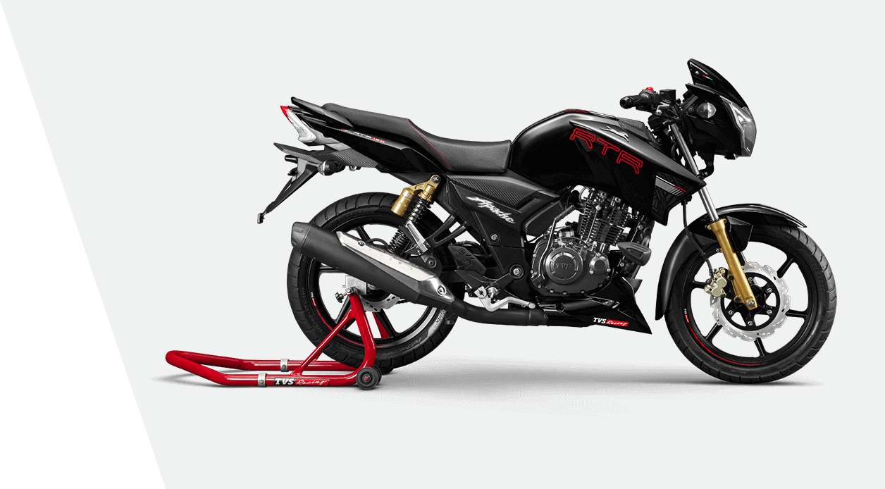 2019 TVS Apache RTR 180 five facts
