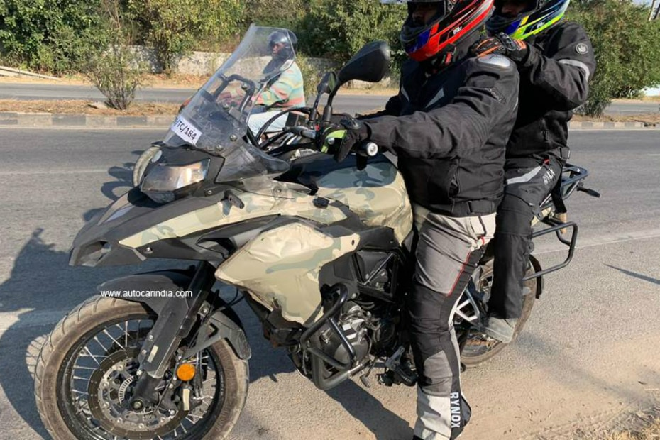 Benelli TRK 502X Spied Testing In India