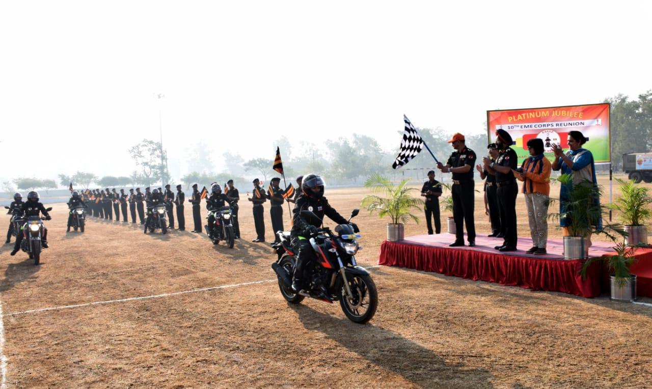 TVS ride of honour