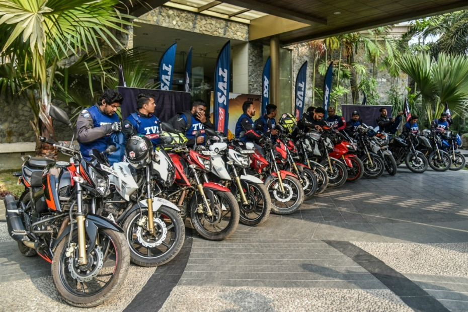 TVS Apache Owners Group ride to Bhutan