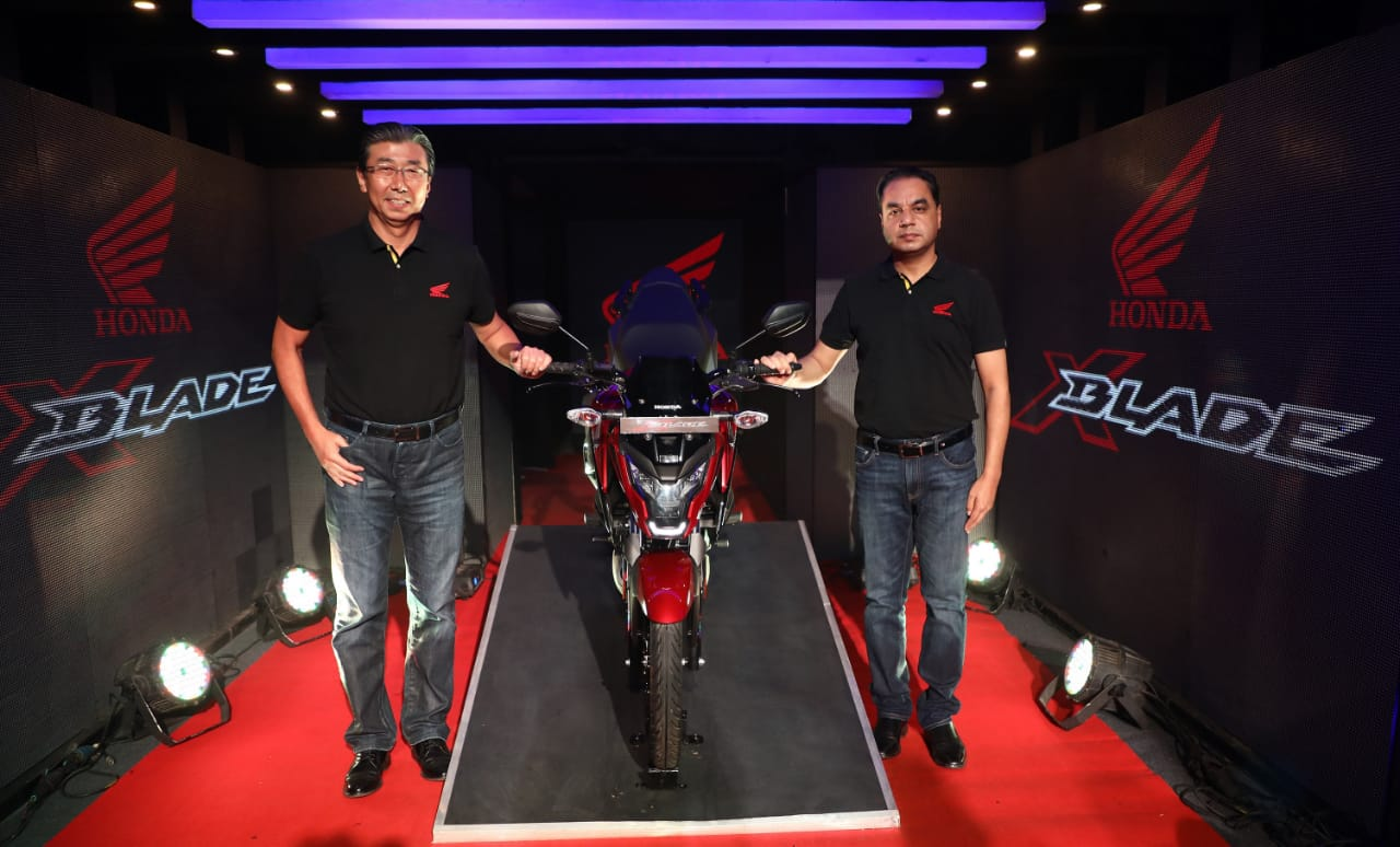 Honda Launches X-Blade With ABS At Rs 87,776 (ex-showroom Delhi)