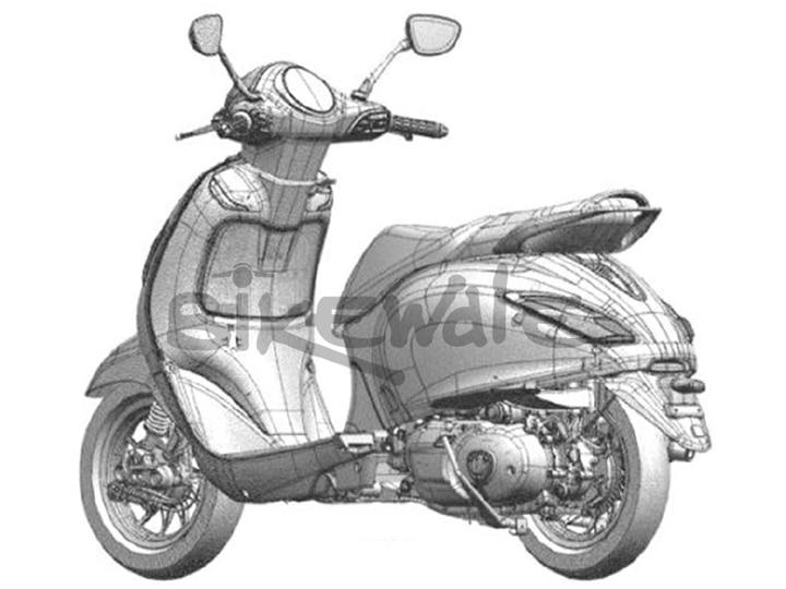Bajaj Urbanite Scooter Design Sketches