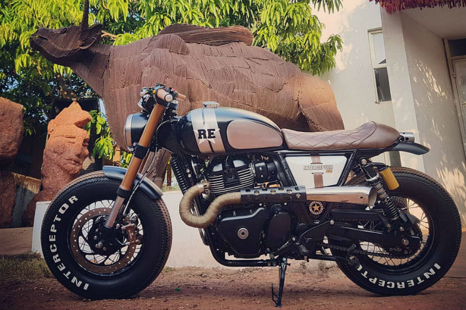 Check Out This Insane Custom Royal Enfield Interceptor 650 By