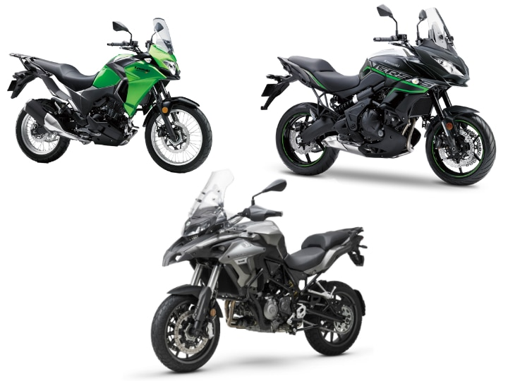 Benelli Trk 502 Vs Kawasaki Versys X 300 Vs Kawasaki Versys 650