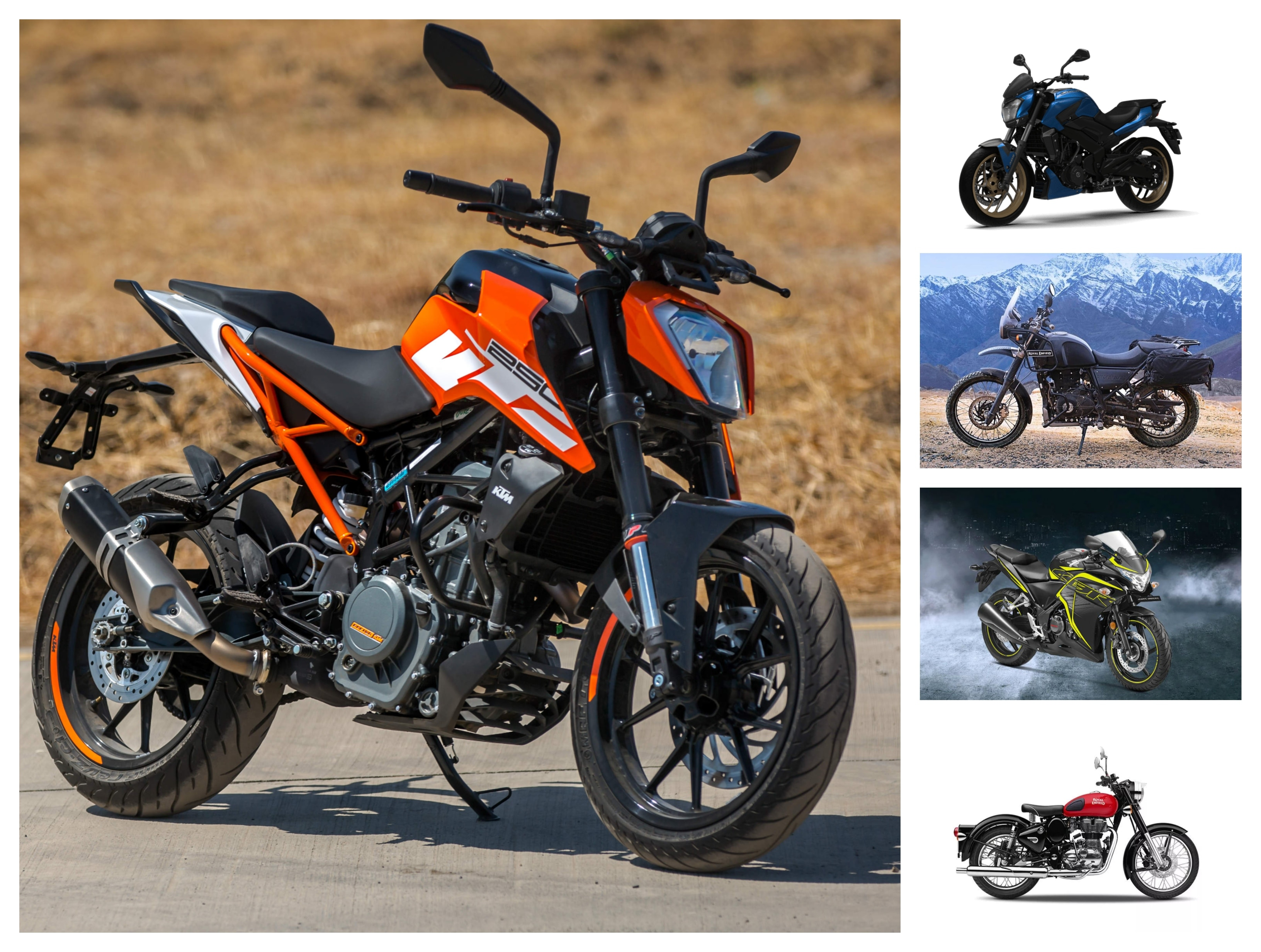 KTM 250 Duke: Same Price, Other Options