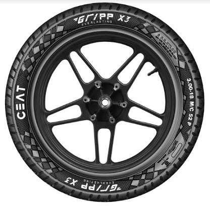 Ceat Gripp X3 Tyres Launched In India