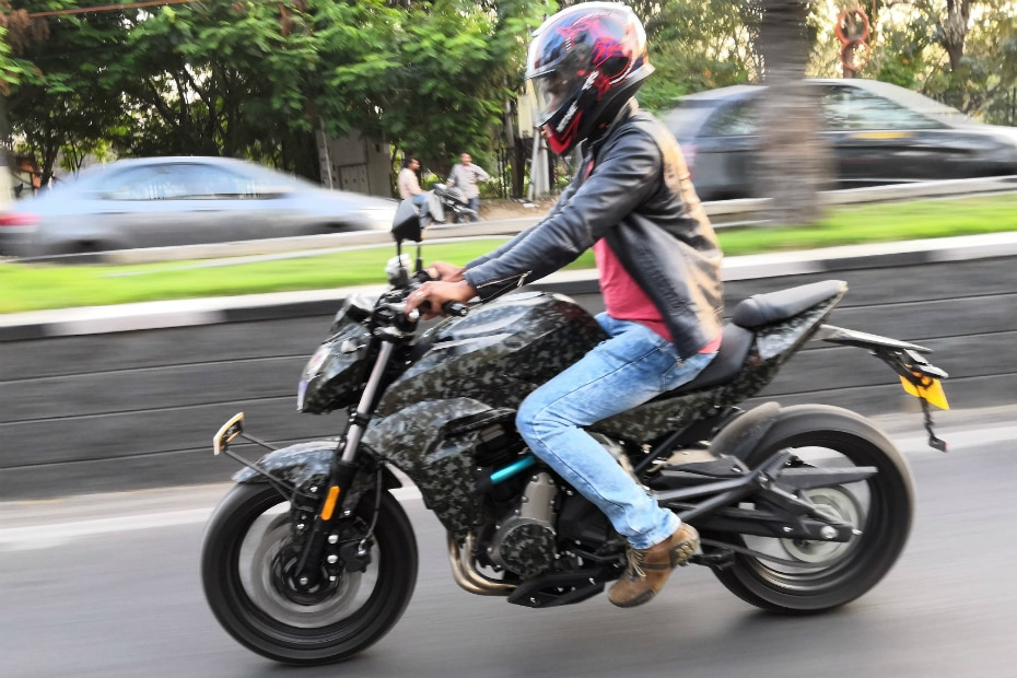 CFMoto 650NK Spied Testing In India