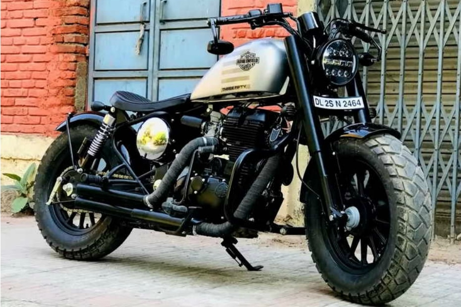 Check Out This Royal Enfield Classic 350-Based Bobber