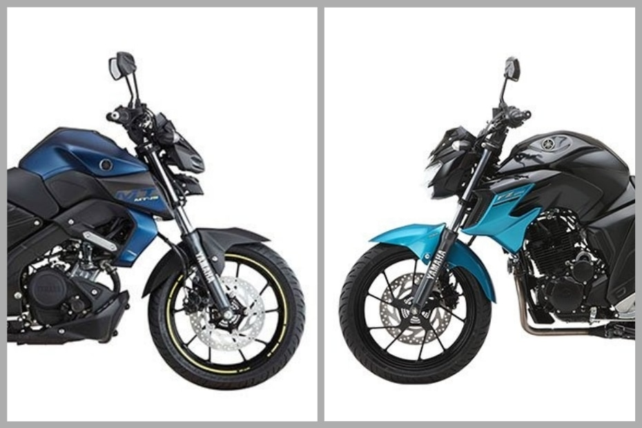 Electric Bike Review >> Family Feud: Yamaha MT-15 Vs FZ25 | BikeDekho