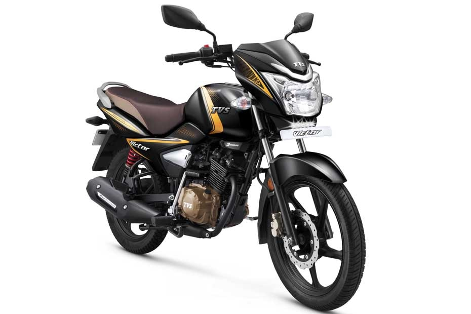 TVS Victor Launched In India With Synchronized Braking Technology (SBT)