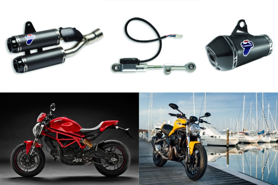 Ducati Monster Offer: Take Home A Free Termignoni Exhaust | BikeDekho