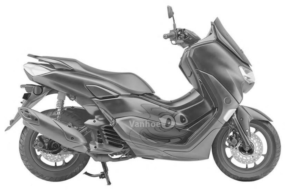 Yamaha 2019 Nmax 155 Patent Images Surface Online Gaadi