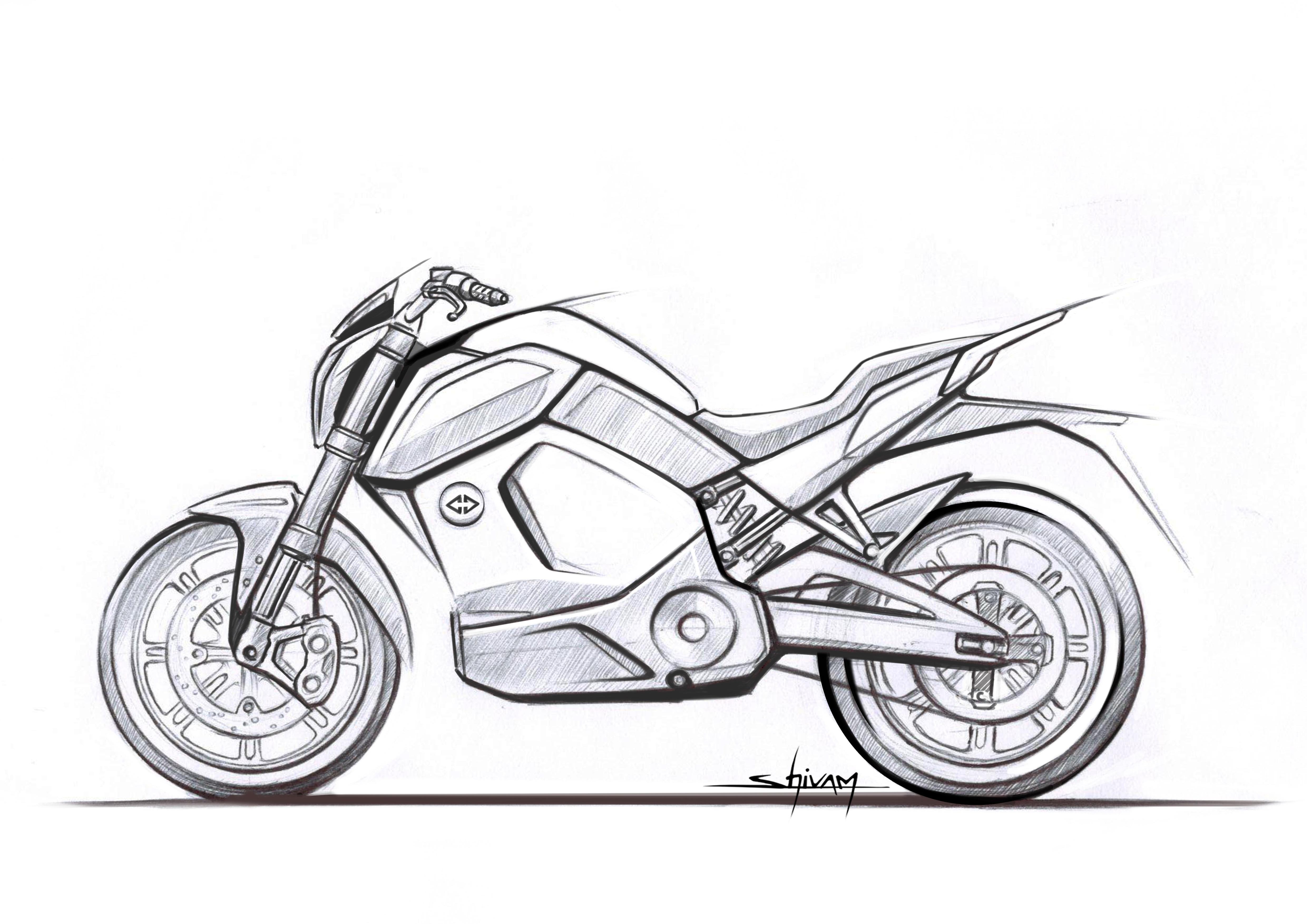Revolt electric motorcycle Arai test