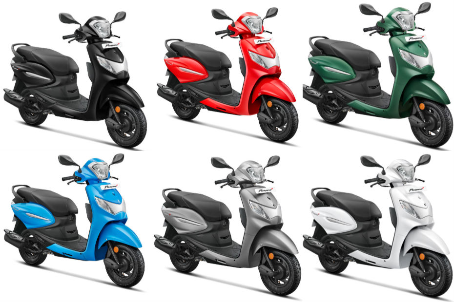 Hero Pleasure Plus 110: Which Colour To Pick