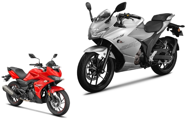 2019 Suzuki Gixxer SF Vs Hero Xtreme 200S: Spec Comparison