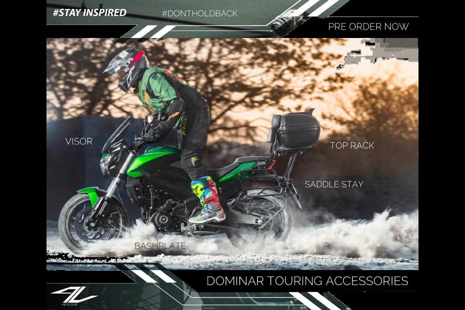 Bajaj Dominar 400 Touring Kit