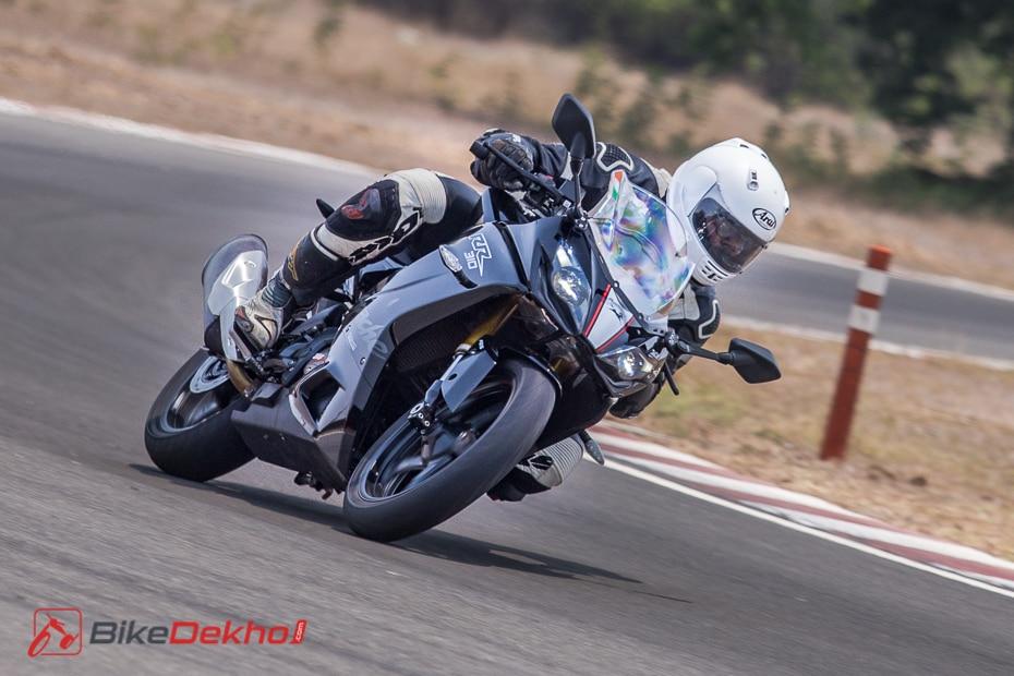 2019 Tvs Apache Rr 310 First Ride Review Bikedekho