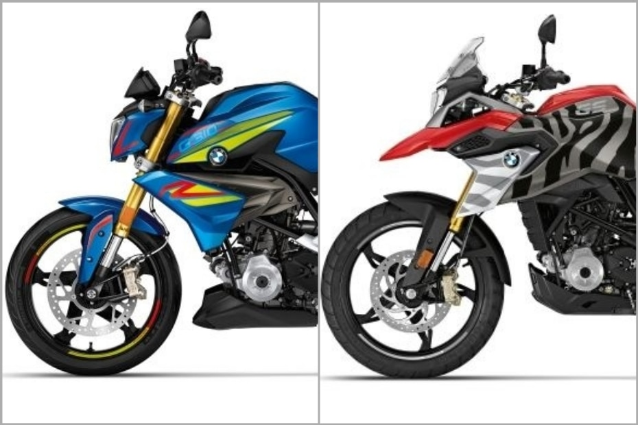 BMW G 310 R, G 310 GS Get New Sticker Packs