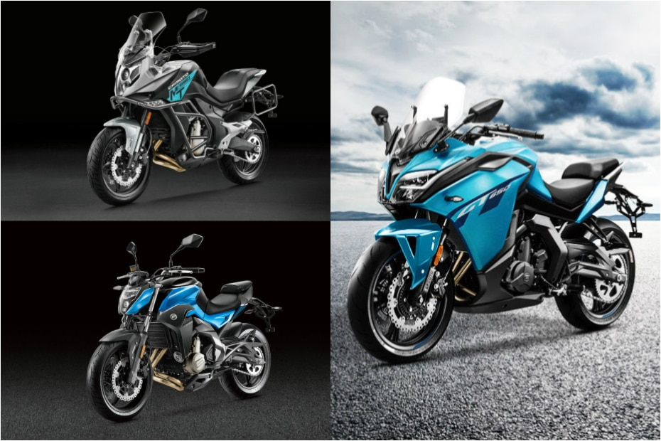 CFMoto 300NK, 650NK, 650MT & 650GT Launched In India