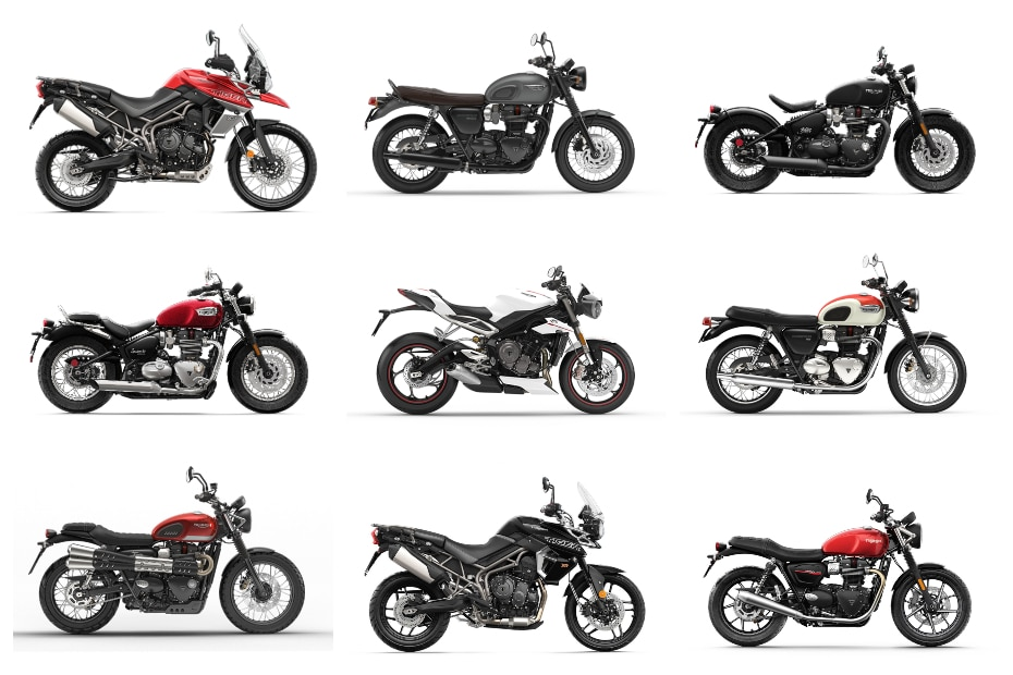 Triumph July 2019 Offers