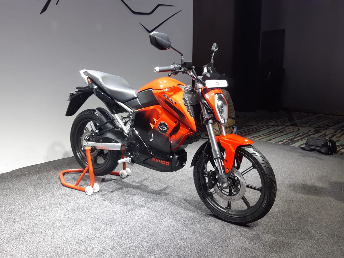 Revolt RV 400 Electric Motorcycle Bookings Open