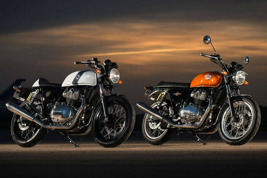 Royal Enfield Interceptor and Continetal GT 650 May Sales