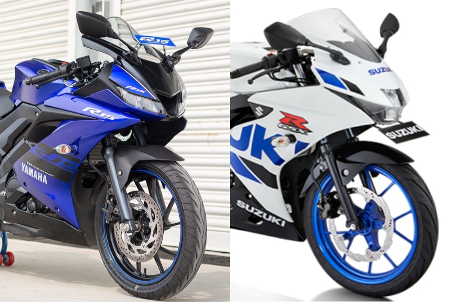 Suzuki GSX-R150 vs Yamaha R15 V3: Spec Comparison