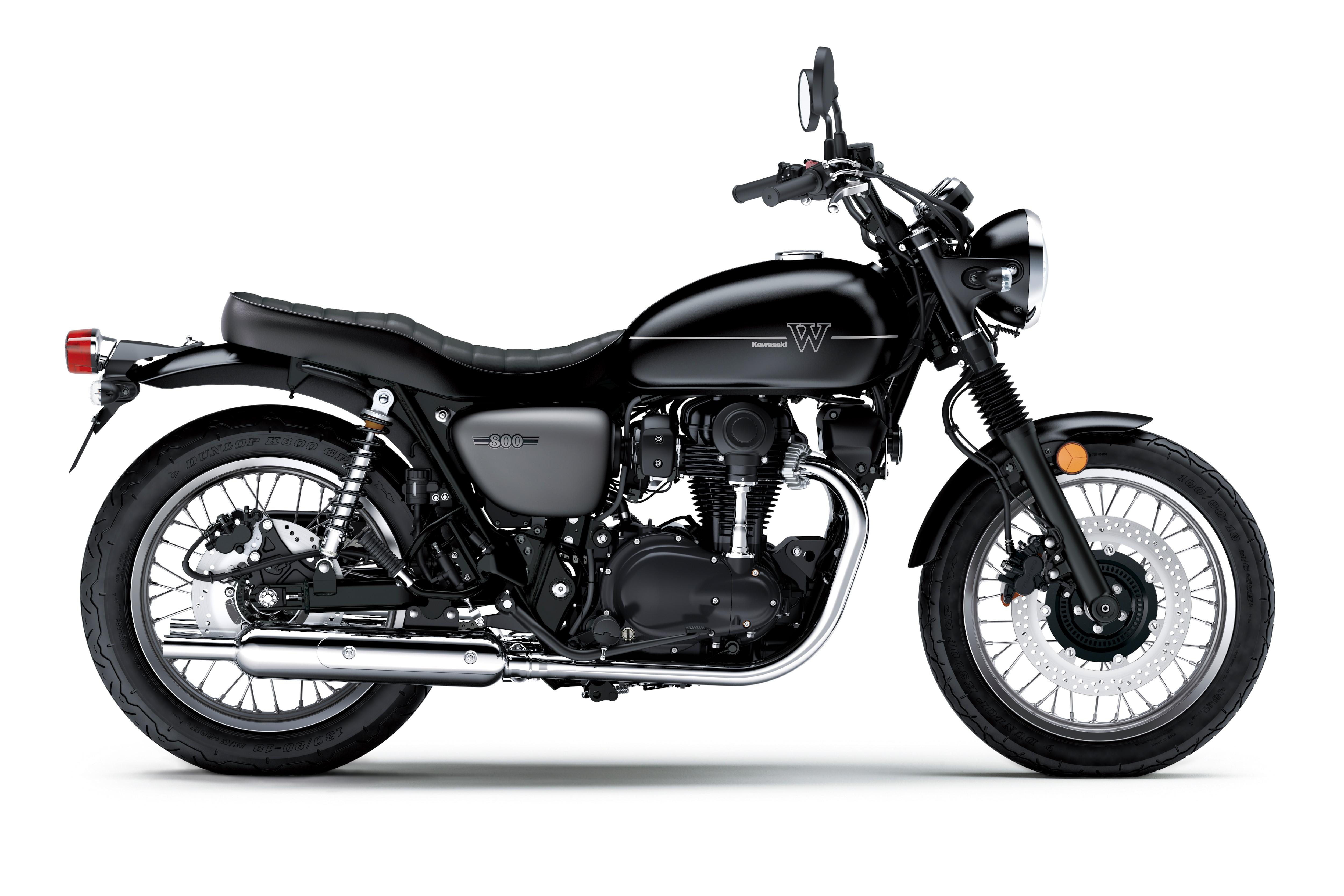 Kawasaki Launches W800 Street Retro Motorcycle In India