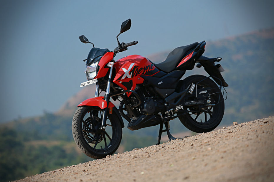 Hero two-wheelers-available online