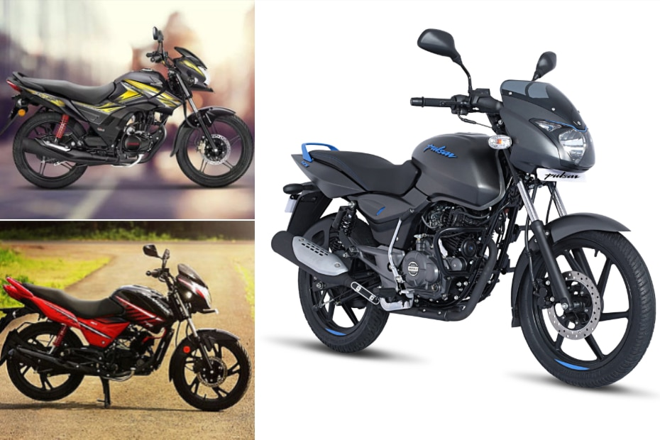 Bajaj Pulsar 125 Neon vs Honda CB Shine SP vs Hero Glamour: Specification Comparison