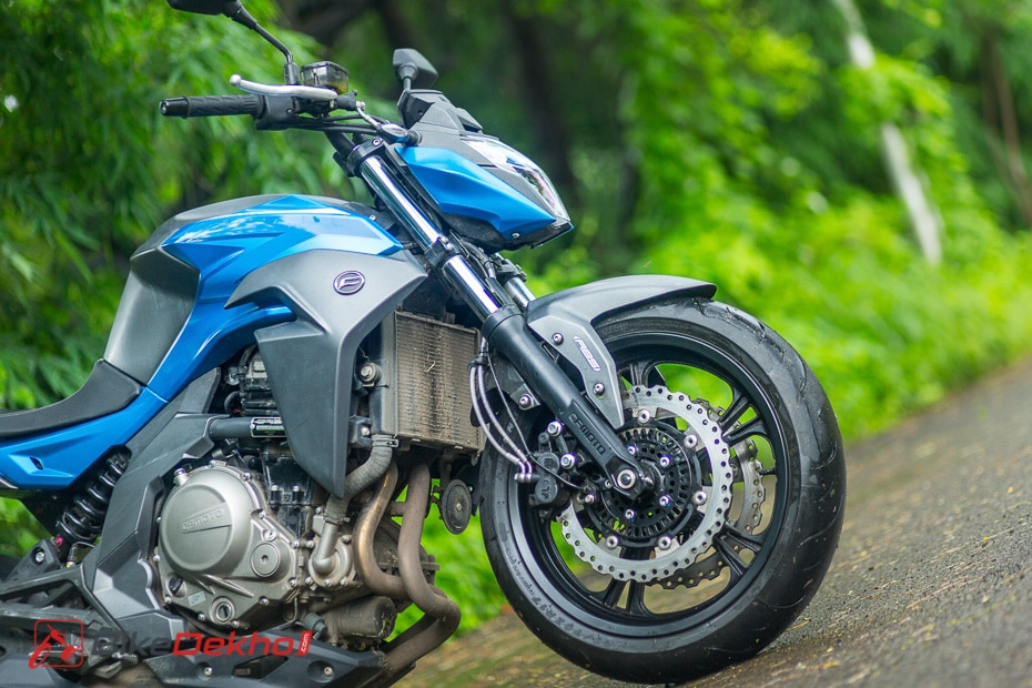 CFMoto 650NK Review: Photo Gallery
