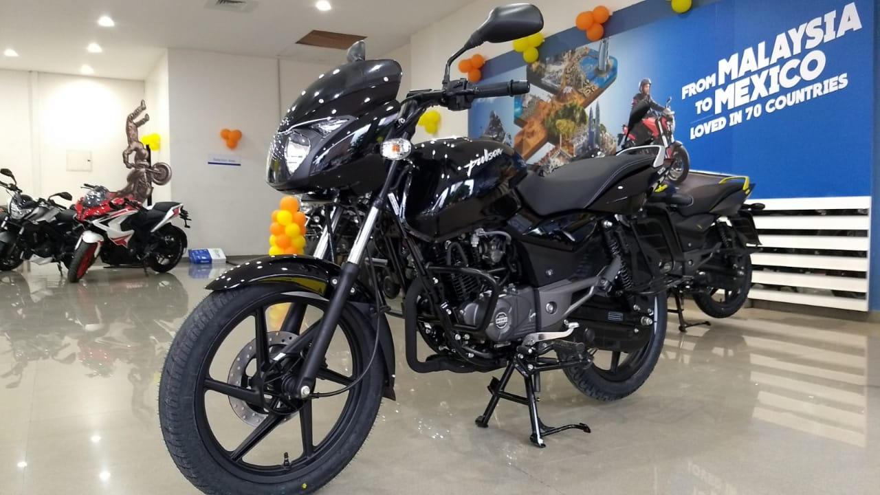 Bajaj Pulsar 125 Neon In Pictures