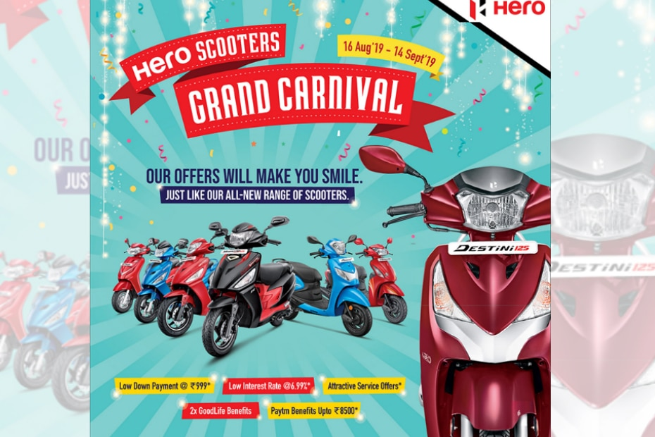 Hero MotoCorp Announces Festive Season Offers