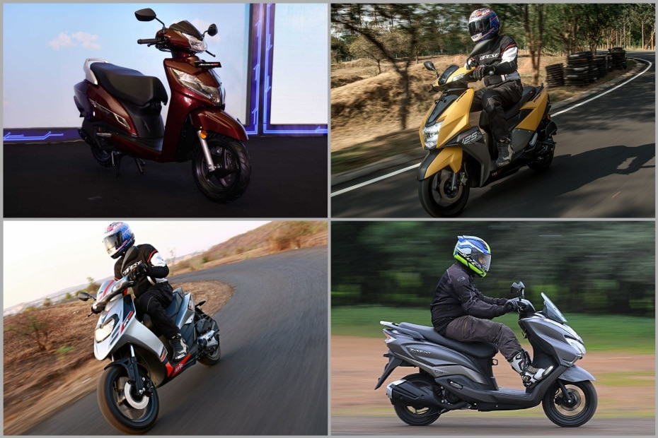 125cc Scooter Segment Explained: Honda Activa 125 BS6, Suzuki Access 125, TVS NTorq 125 & More